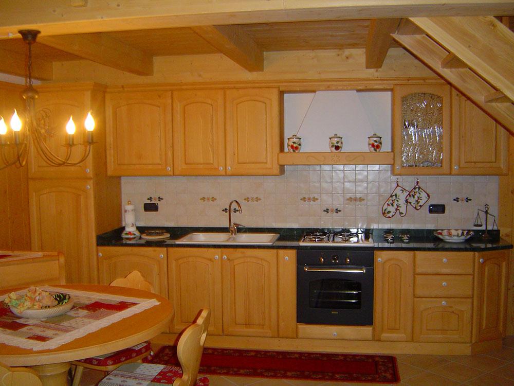 Arredamenti gubert cucine su misura realizzate con - Cucine con soggiorno ...